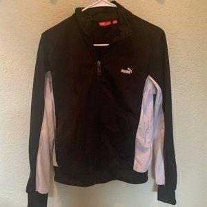 PUMA black & white jacket exercise sweater